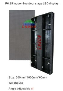 P6.25 Slim Aluminum Cabinet for Rental LED Video Wall pictures & photos