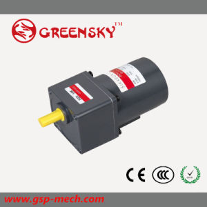 GS 40W 220V Single Three Phase High Torque Induction AC Geared Motor pictures & photos