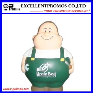 Customized Logo Human Shape PU Stress Worker (EP-P58304) pictures & photos