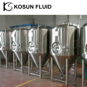 1000L Jacketed Conical Beer Fermentor pictures & photos