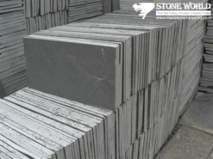 Black Slate Tiles for Wall/Flooring (mm095) pictures & photos