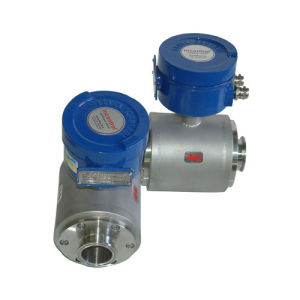 Electromagnetic Flow Meter for Food with Sanitary Connection