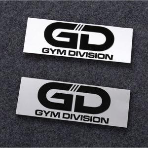 Custom Logos Custom Metal Aluminum Car Sticker pictures & photos