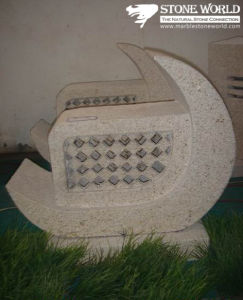 Natural Grey Granite Stone Lantern for Outside Garden (LAL04) pictures & photos
