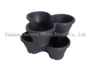 Plastic Stackable Flowerpot Mould pictures & photos