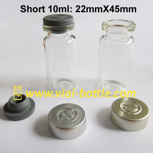 8ml Short 10ml Vial with Aluminum Cap pictures & photos