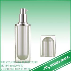 30ml All Plastic Black Airless Bottle for Cosmetic pictures & photos
