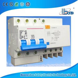 Dz47le-63 (C45LE) Electronic Type RCBO (RCCB with Overcurrent Protection) pictures & photos