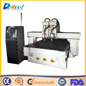 Two Spindle Wood CNC Router Machine 1325 pictures & photos