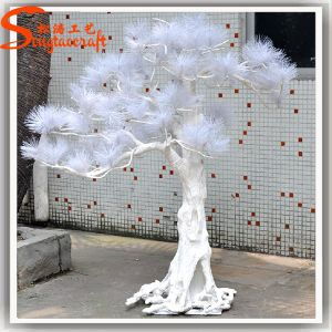 Unique Style Art Decorative White Artificial Ficus Tree pictures & photos