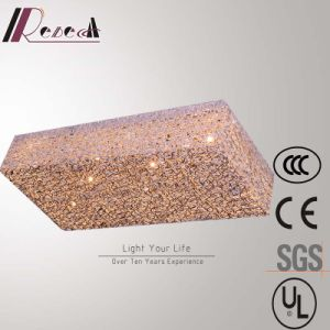 Modern Hotel Decirative G4 Aluminum Square Ceiling Lamp pictures & photos