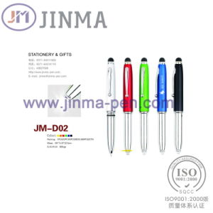Promotion Gifts Pen Jm-D0&⪞ Apdot; B with One LED One Stylus Tou pictures & photos