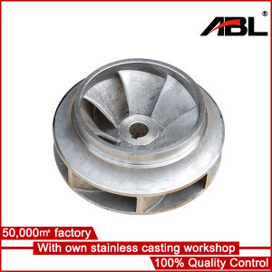 Stainless Steel Pump Impeller pictures & photos