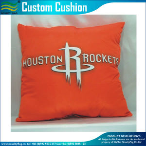 NBA Sport Red Square Printed Cushion Pillow Cover (M-NF29F14007) pictures & photos