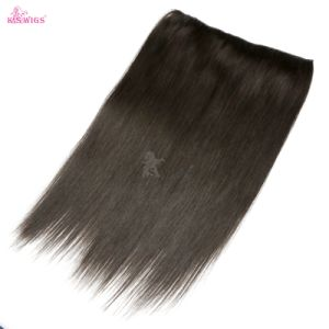 Straight Brazilian Hair Weave Halo Hair Extension Aliexpress Hair pictures & photos