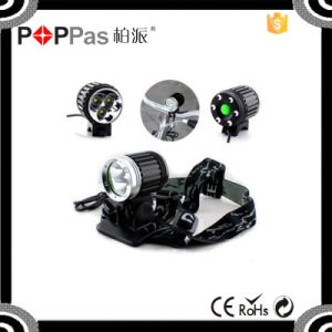 Bicycle Light with 3 Xm-L T6 Waterproof Bicycle Light pictures & photos