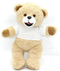 Customized Printed Logo T Shirt Plush Teddy Bear pictures & photos