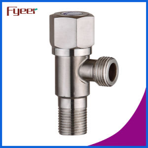 Fyeer Manufacture High Quality Brush Stainless Steel Angle Vlave pictures & photos