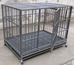 High Quality Wire Mesh Pet Product Square Dog Cage