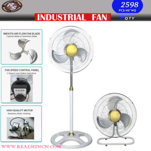 2 in 1 Industrial Fan with White and Golden Color pictures & photos