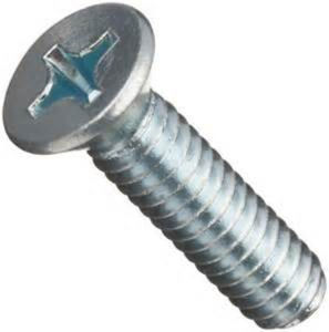 Carbon Steel Cross Recessed Countersunk Head Screws DIN 965 pictures & photos