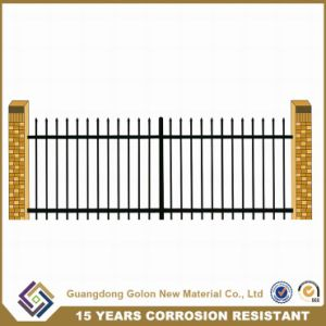 Anti-Climbing Galvanized Steel Garden Fencing pictures & photos
