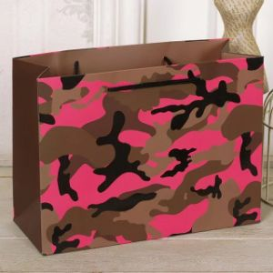 Custom Fashion/Camouflage/Leopard Printed Paper Packaging Bag/Custom Design Shopping Bag pictures & photos
