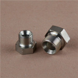 Bsp to NPT Male Threaded Adapter pictures & photos