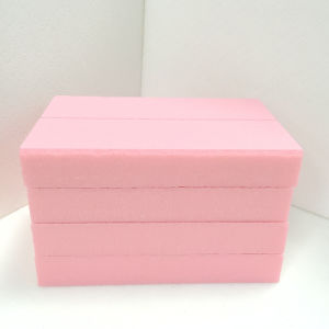 Fuda Extruded Polystyrene (XPS) Foam Board B3 Grade 1000kpa Pink 30mm Thick Slotted