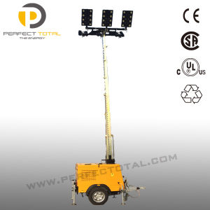 2400W LED Yanmar Power Diesel Light Tower pictures & photos