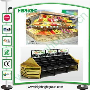 Vegetable and Fruit Display Racks pictures & photos