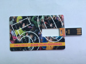 24h Services Hot Sell Business Card USB Flash Drive with Full Color Printing pictures & photos