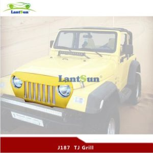 Black ABS Front Grille for Jeep Wrangler Tj pictures & photos