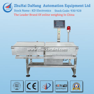 Bottom Price Checkweigher with Automatic Online Weighing System pictures & photos