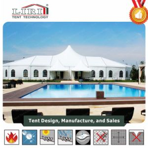 500 People High Peak Party Tent for Wedding Party in Nigeria pictures & photos
