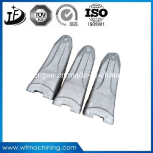 Wear-Resistant Steel Precision Casting Excavator Bucket Teeth with Painting pictures & photos