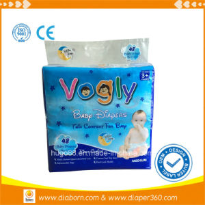 Disposable Diaper Type and Cotton Material Disposable Diaper for Babies pictures & photos