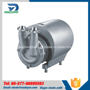 Stainless Steel Sanitary CIP Self Sucking Pump (DY-P019) pictures & photos