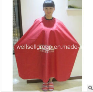 Polyester Hair Salon Cutting Cape Hairdressing Barber Cape pictures & photos