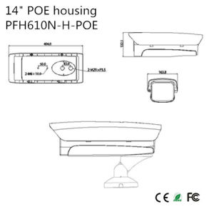 """14"""" Poe Outdoor Housing {Pfh610n-H-Poe} pictures & photos"""