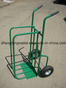 Outdoor with Good Quality for The Firewood Carrier Storage Hand Trolley pictures & photos