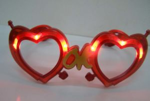 Party Celebration LED Flashing Glass (Heart) pictures & photos