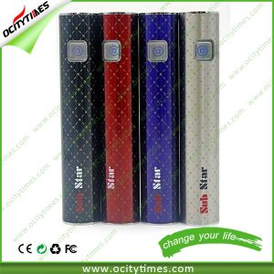 2015 Hot New Product Sub Star 2200mAh E Cigarette Battery pictures & photos