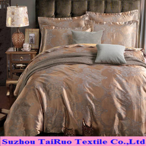 Microfiber Bedsheet of Reactive Printed Jacquard Tc Fabric pictures & photos