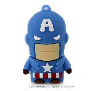 Cartoon America Super Hero USB Flash Driver for Promotion pictures & photos