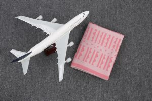 100%Modacrylic Woven Airline Blanket (HF0001)