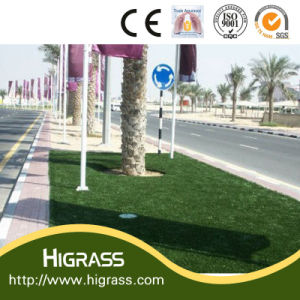 Artificial Grass Lawn for Road Decoration pictures & photos