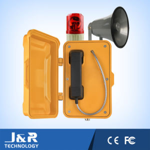 Alarm Telephone for Fire Protection Weather-Proof Industrial Telephone pictures & photos