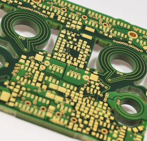 24-Layer PCB with Immersion Gold Surface Finishes, Line/Space 6/6mil, 2.1mm, 3oz