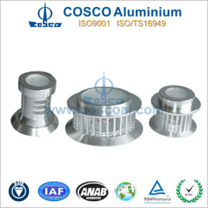 Aluminium/Aluminum Extruded Parts for LED Lightings pictures & photos
